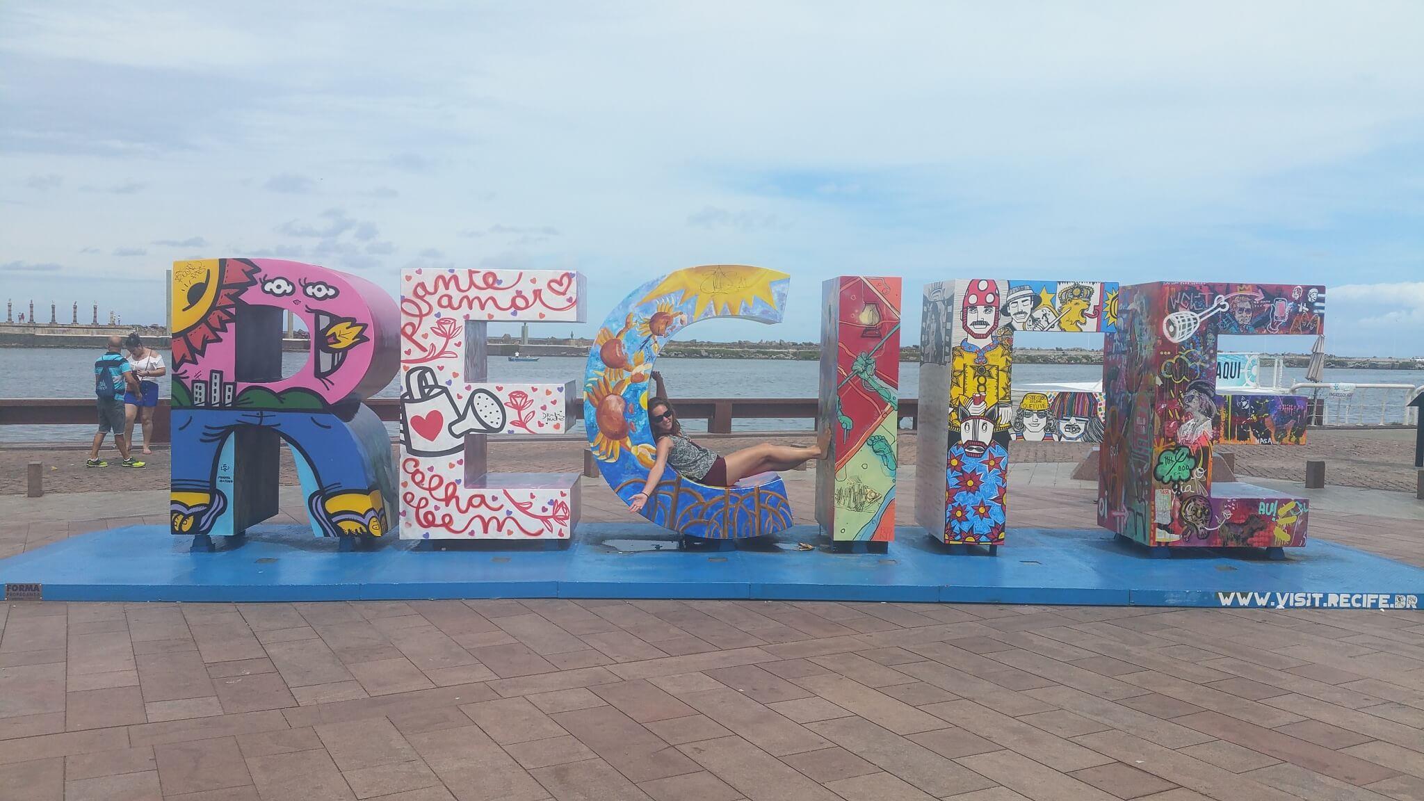 Recife en lettres