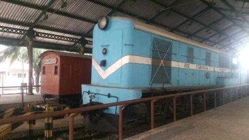 Wagons dans le musée férroviaire Recife