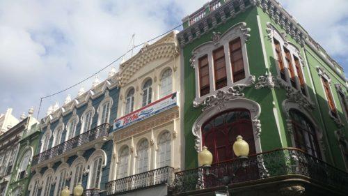 Bâtimentd'une rue de Las Palmas