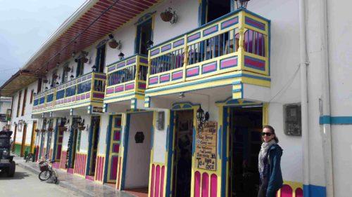 Balcon coloré de Salento