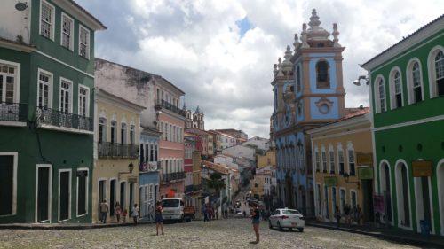Rue principale du Pelourinho