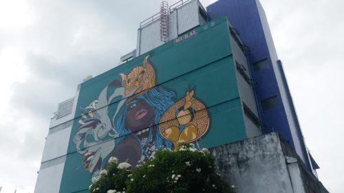 Peinture sur un immeuble