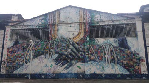 Grafitti sur un bâtiment
