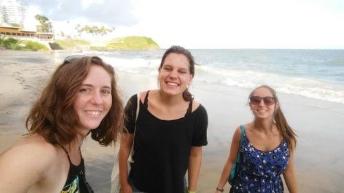 Avec des copines de voyage