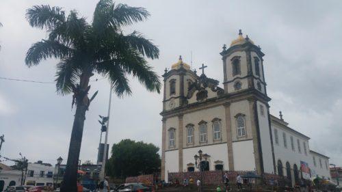 Façade de l'église de Bonfim