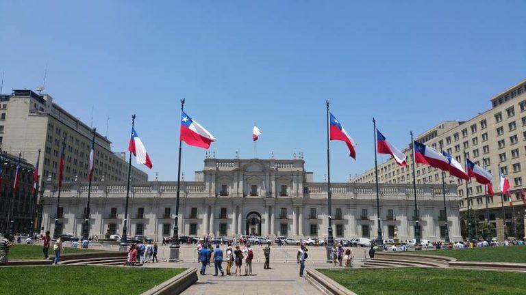 Casa Rosada de Santiago du Chili