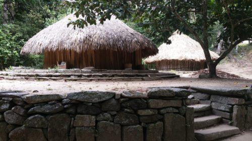 Huttes indigènes