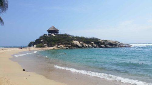 Cap San Juan sur la plage