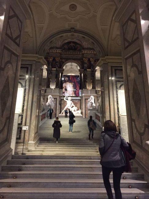 Escalier du musée