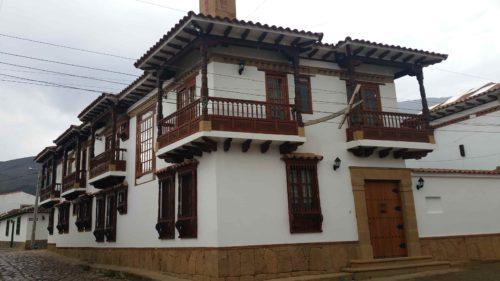 Bâtiment colonial de Villa de Leyva